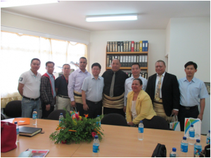 Minister of Tourism, Hon. Etuate Sungalu Lavulavu and the Tourism working group from Guangdong Province, China.